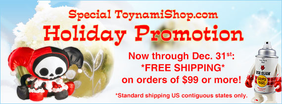 ToynamiShop.com Holiday shipping promo#
