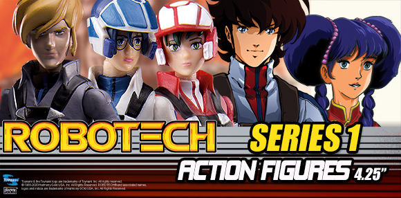 Robotech Action Figures Series 1