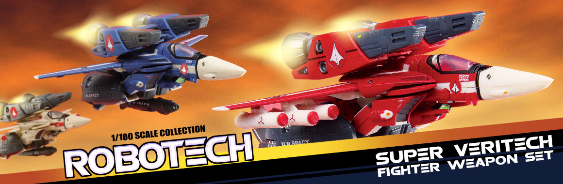 Robotech SUPER WEAPON SETS
