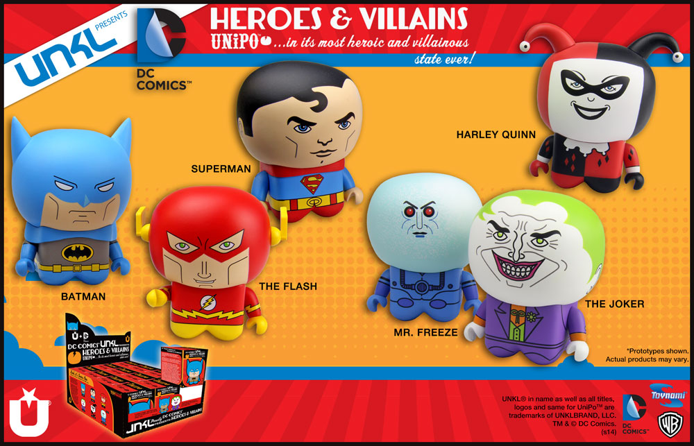DC Comics Heroes & Villians
